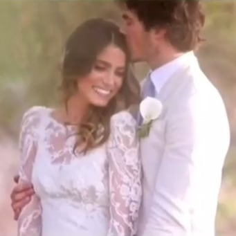 Ian somerhalder and nikki reeds wedding video popsugar celebrity junglespirit Images