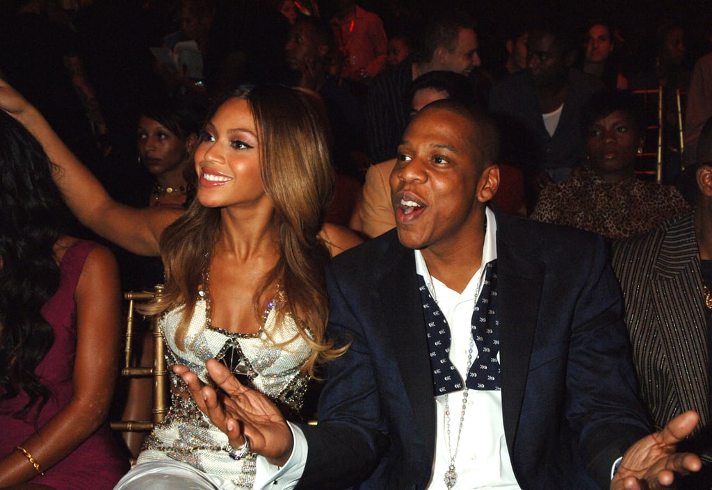 Beyoncé and Jay-Z enjoyed themselves at the August 2006 MTV Video Music Awards.
