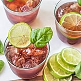 Black Cherry Basil Mocktail