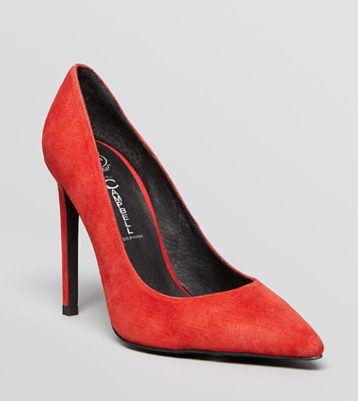 Jeffrey Campbell pointed-toe pumps ($155)