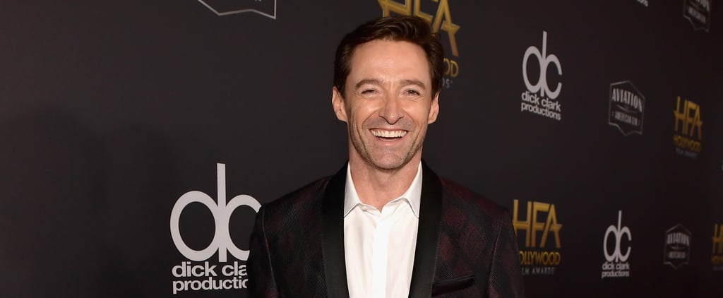 Hugh Jackman Played Wingman For His Son