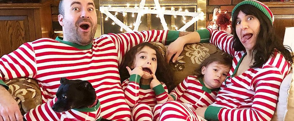 Where the Matching Holiday Family Pajamas Trend Started