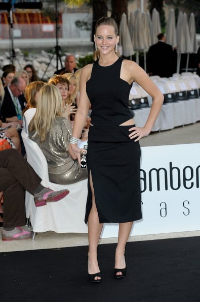 Jennifer Lawrence attended a fashion show at the Le Meridien Beach Plaza Hotel in Monaco in May.