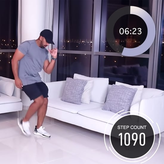 15-Minute 2,000 Step Home Walking Workout From Rick Bhullar