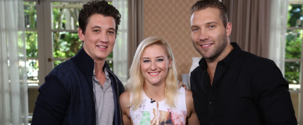 Miles Teller and Jai Courtney Divergent Interview | Video