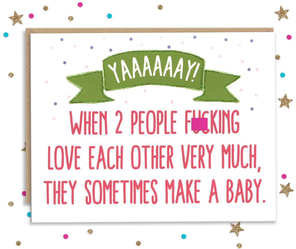 Baby Making Card