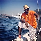 Diddy vacationed on a yacht. Source: Instagram user iamdiddy