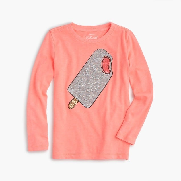 J.Crew Sparkle Popsicle T-Shirt