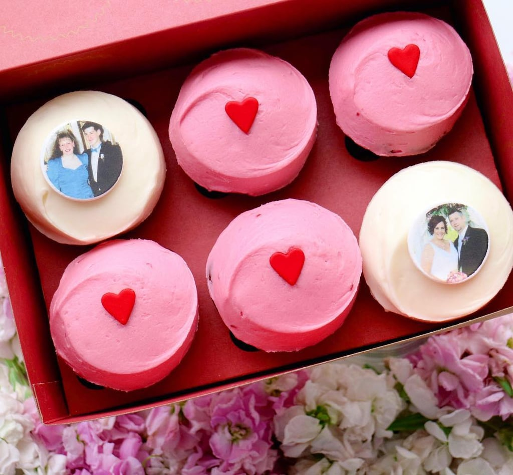 Sprinkles Personalized Cupcakes | Best Valentine\'s Day Foods 2017 ...