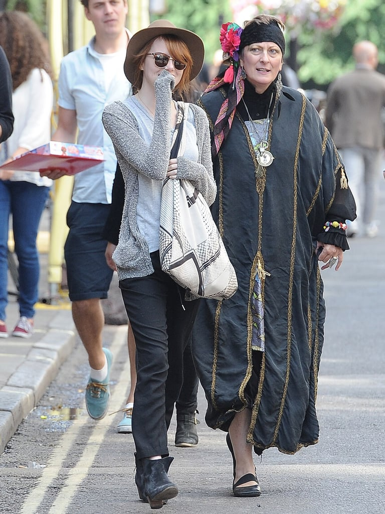 Emma Stone and Andrew Garfield Laugh Their Way Through London
