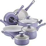 Farberware New Traditions 12-pc Speckled Aluminum Nonstick Cookware Set