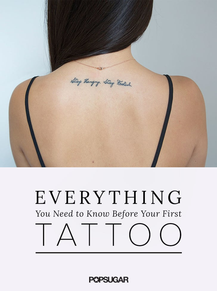How to Care For a Tattoo