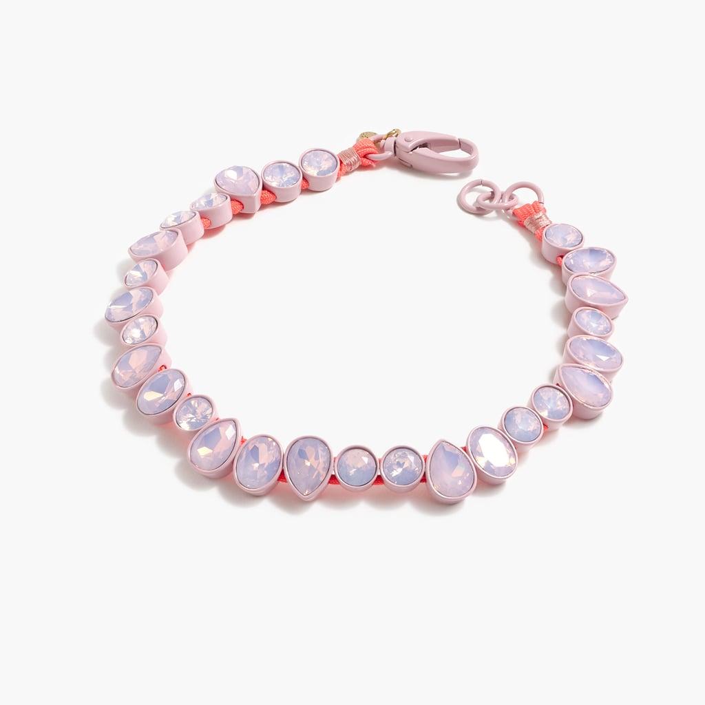 Brûlée Crystal Necklace ($128)