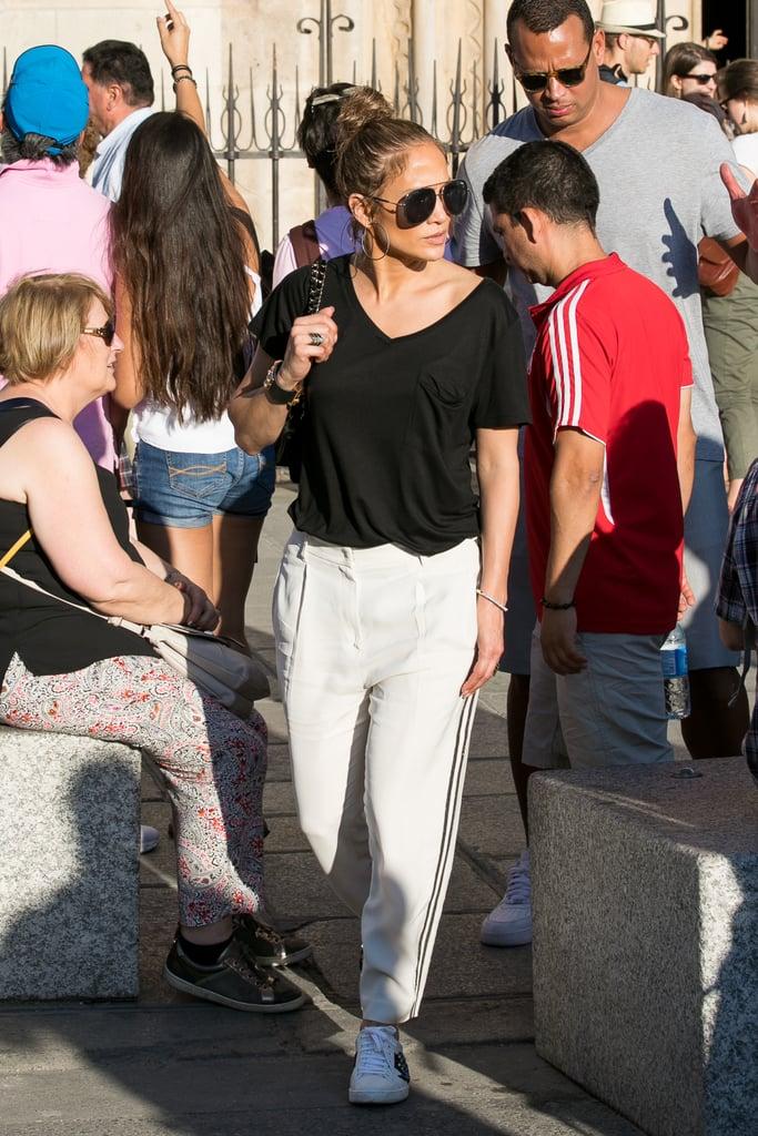 June In Paris Jennifer Lopez Street Style 2017 POPSUGAR Latina Photo 7