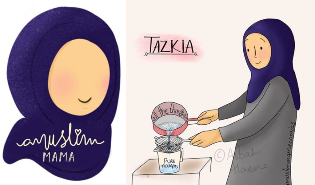 Get to Know A Muslim Mama Comics Illustrator Asbah Alaena