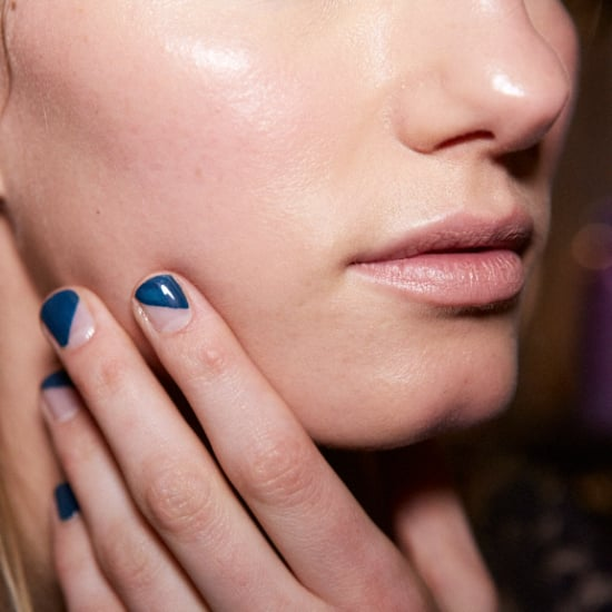 French Manicure Trend Fall 2014 New York Fashion Week POPSUGAR