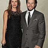 Mark Wahlberg and Rhea Durham were happy together at a private dinner in LA.