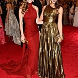 Hilary Swank and Jessica Alba looked drop-dead gorgeous together in 2012.
