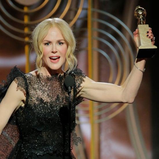 Nicole Kidman Acceptance Speech at 2018 Golden Globes