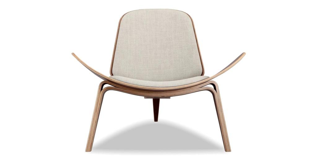 "Kardiel Tripod 36"" Fabric Chair"