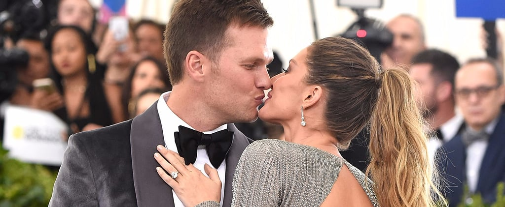 Gisele Bundchen and Tom Brady at the Met Gala 2017