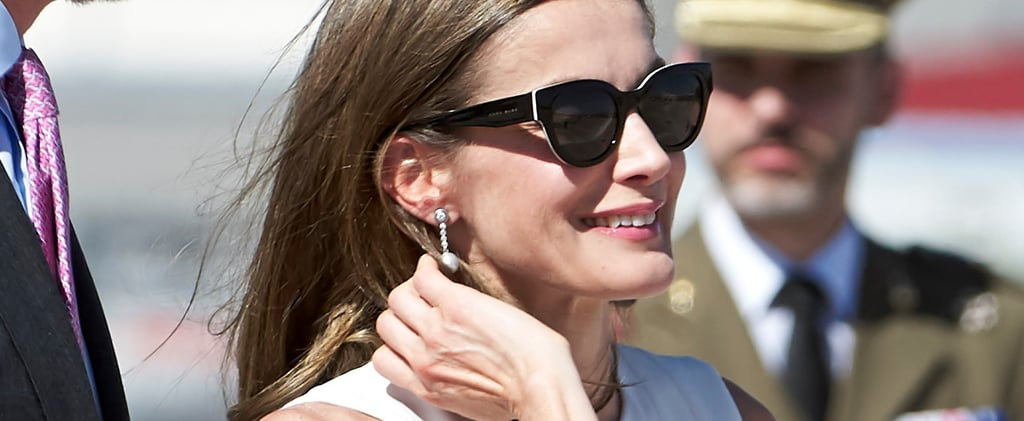 Queen Letizia Just Wore the Classic Sunglasses You Need This Summer