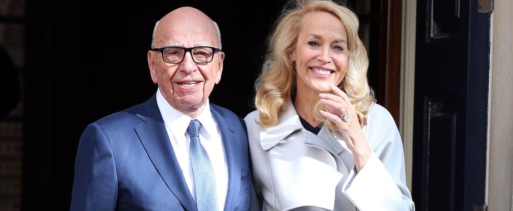 Jerry Hall and Rupert Murdoch's Wedding
