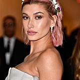 Hailey Baldwin's Pink Hair in May 2018