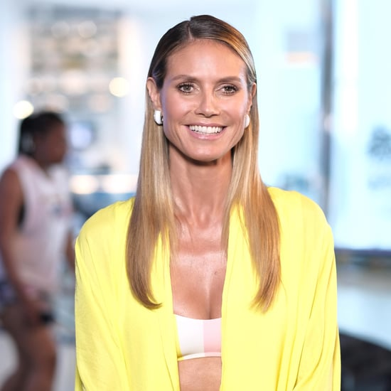 Heidi Klum Stands Up to Mum-Shamers About High Heels