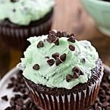 Mint Chip Ice Cream Cupcakes