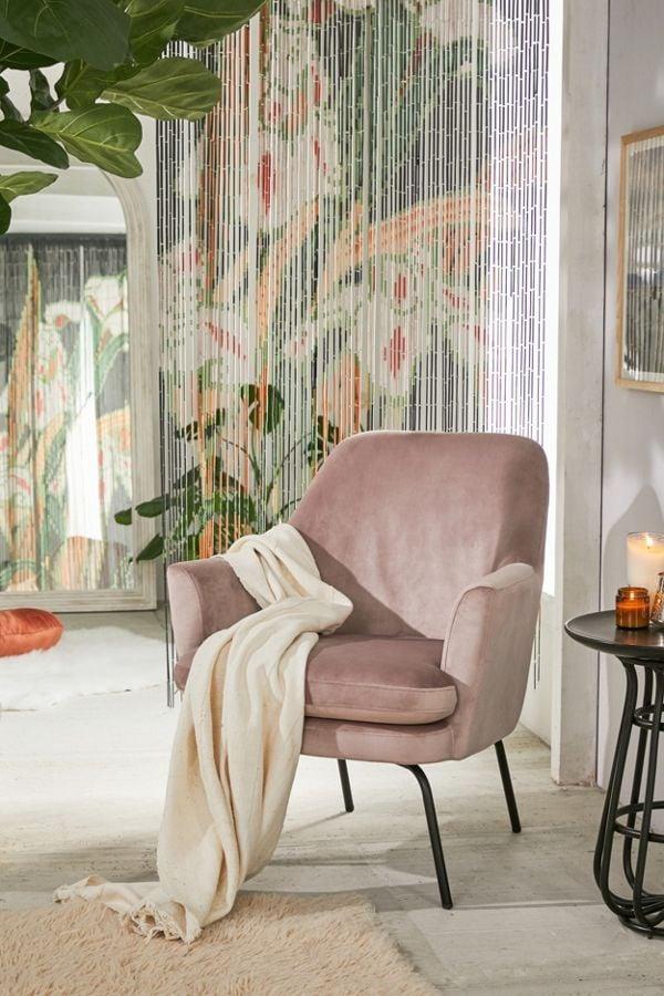 Chloe Velvet Arm Chair