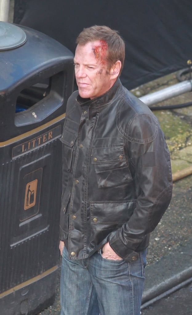 Kiefer Sutherland on the 24: Live Another Day Set