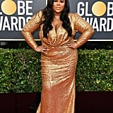Nina Parker at the 2020 Golden Globes