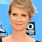 Cynthia Nixon With a Pixie Cut