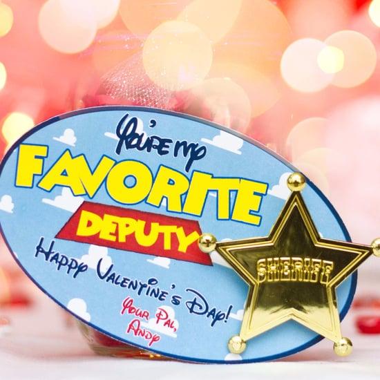 Noncandy Disney Valentine's Day Cards