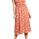 Row A Floral Smocked Waist Sundress