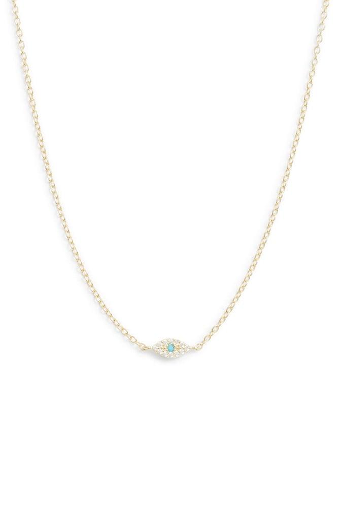 Adina's Jewels Evil Eye Necklace