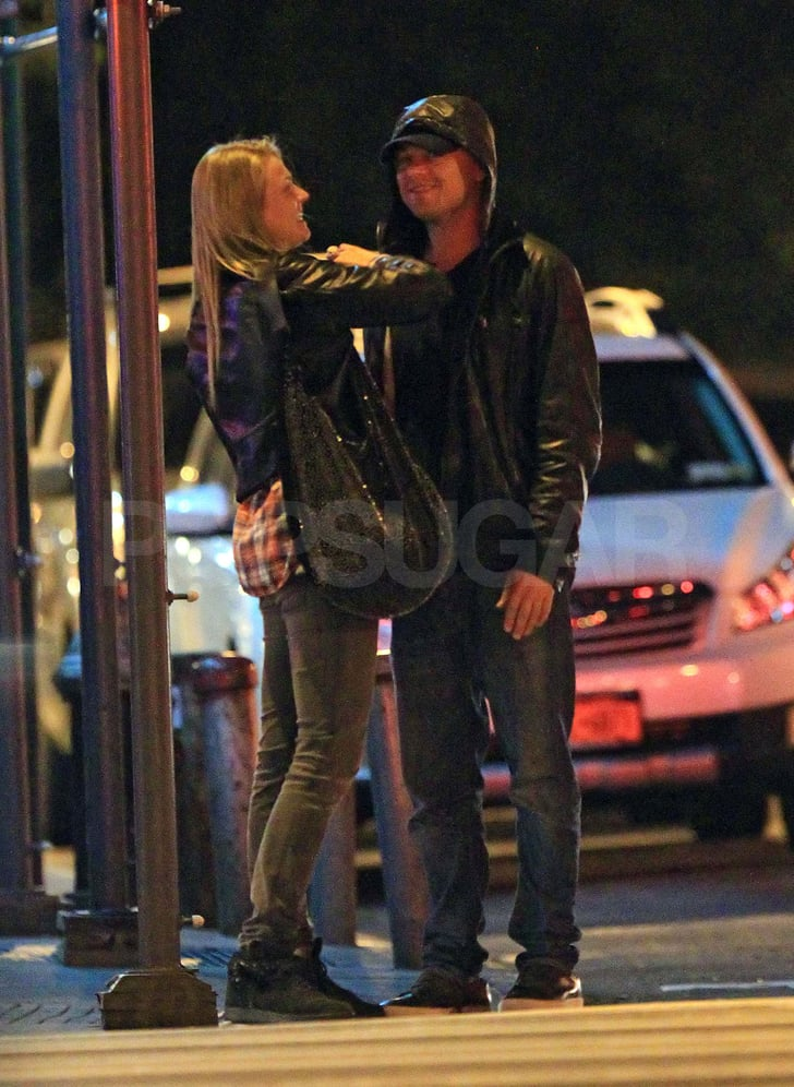 Leonardo DiCaprio Meets Up With a Mystery Blonde After Hours in NYC