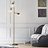 Glass Spotlight Floor Lamp