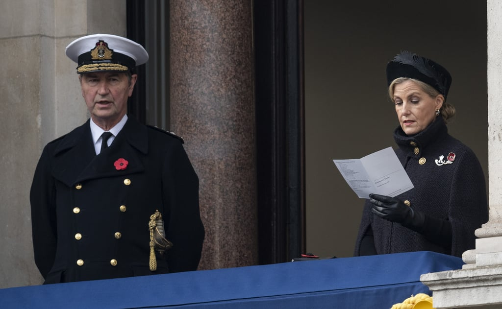 The Royal Family at the 2020 Remembrance Day Sunday Service