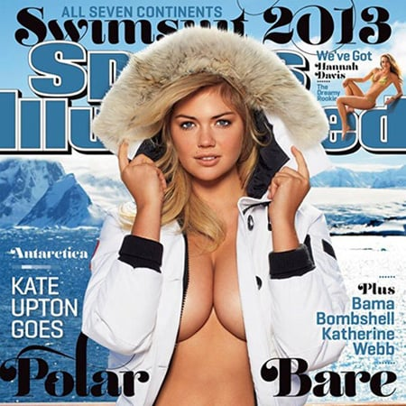 Kate Upton Sports Illustrated Swimsuit Issue Jacket 2013
