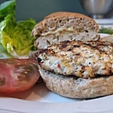 Herb Chicken-Tofu Burger