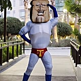 Nineties cartoon Ren and Stimpy may be over, but Powdered Toast Man is still here to save the day!