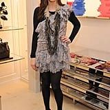 I loved this frilly Dior number on Liv Tyler. Great layering and super cool necklace.
