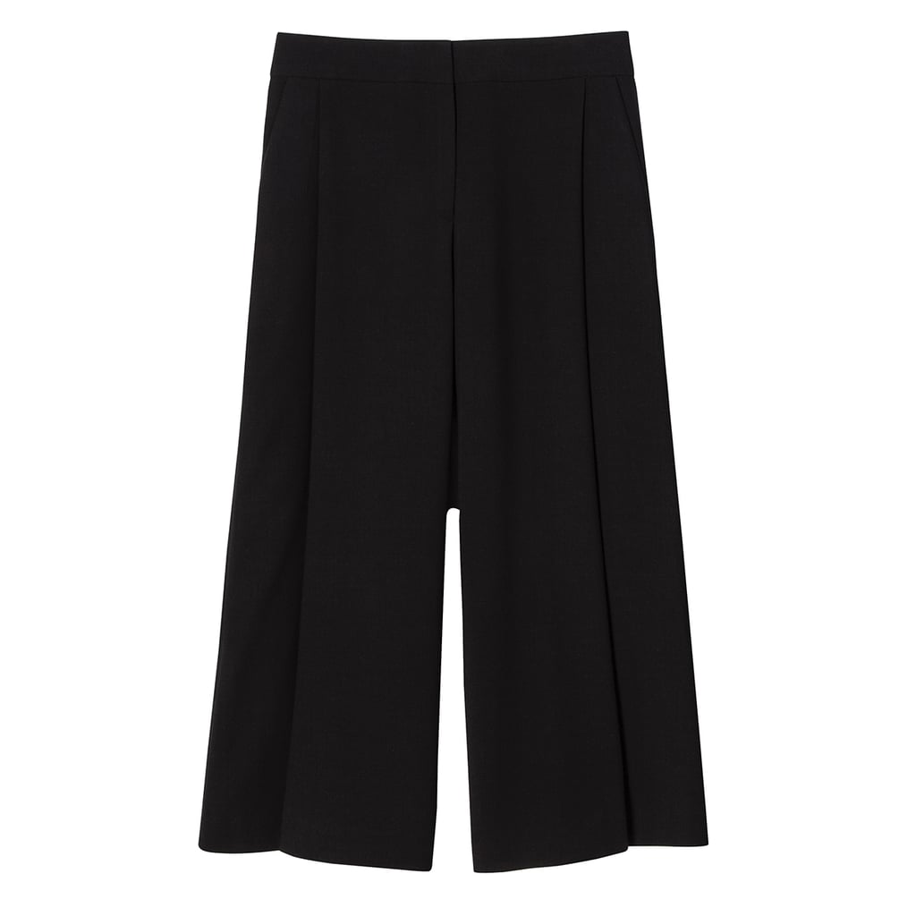 Black Pleated Culotte  ($40)