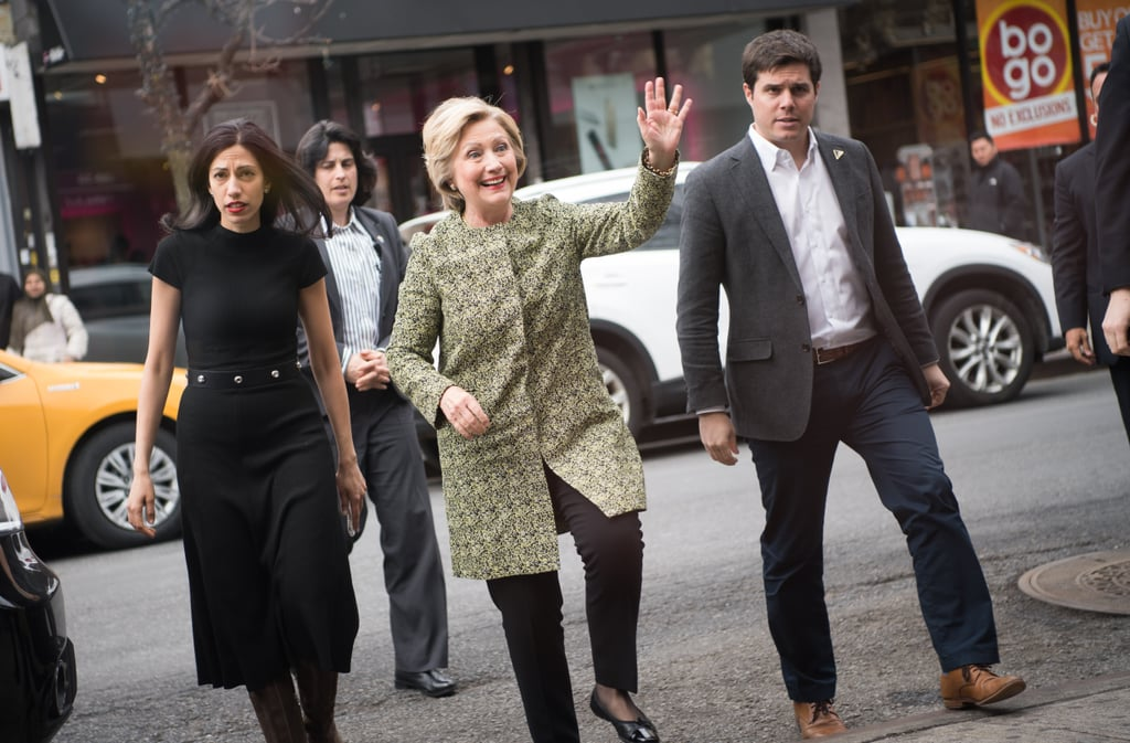Huma Abedin and Hillary Clinton