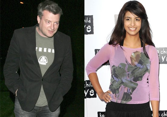 Charlie Brooker and Konnie Huq are Engaged!