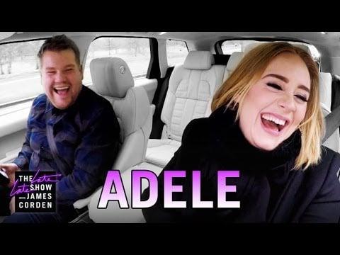 When She Did Carpool Karaoke With James Corden