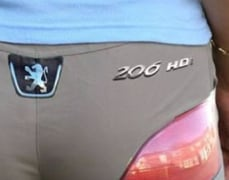 Tail Light Booty Pants