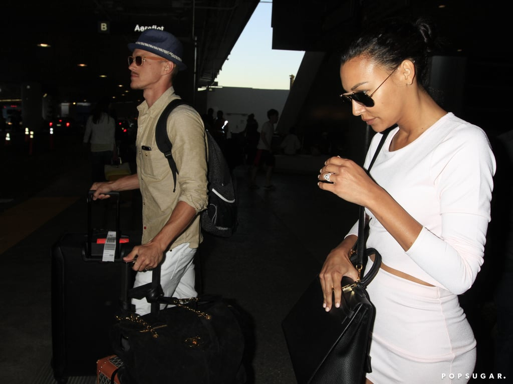 Newlywed Naya Rivera Shows Off Her Ring!